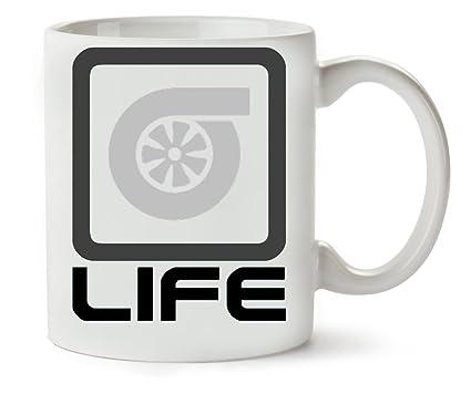 MugWorld Turbo Life Taza para Café Y Té