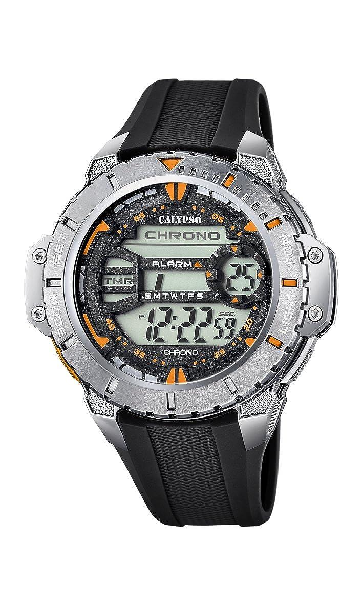 Calypso Watches Reloj Digital para Hombre de Cuarzo con Correa en Caucho K5689_6