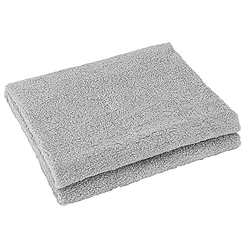 o Lint Soft Long-staple Cotton Flawless Craft Strong Absorbent Towel 2755 Inch Multi-color Optional (Color : Gray) ()