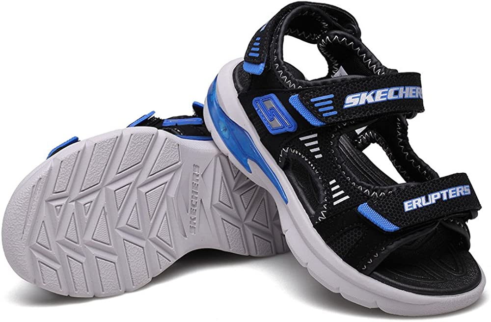 Skechers Boys S Lights Erupters II Sandal