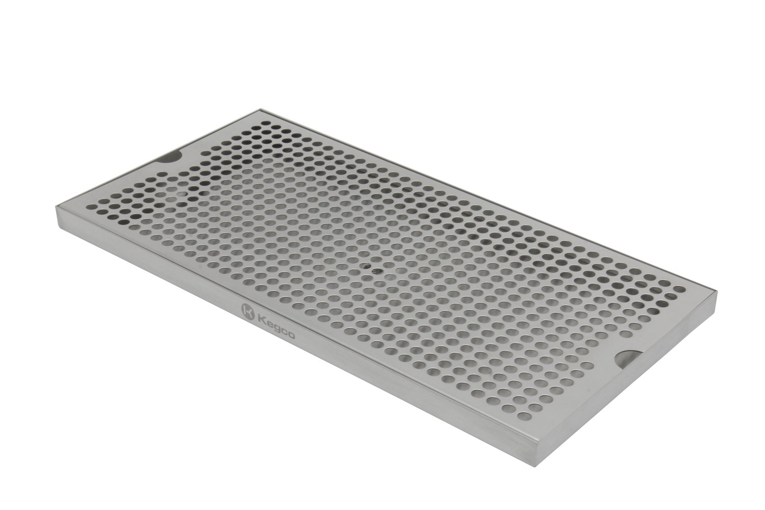 Kegco SESM-189D 18'' x 9'' Surface Mount Drip Tray with Drain by Kegco (Image #1)