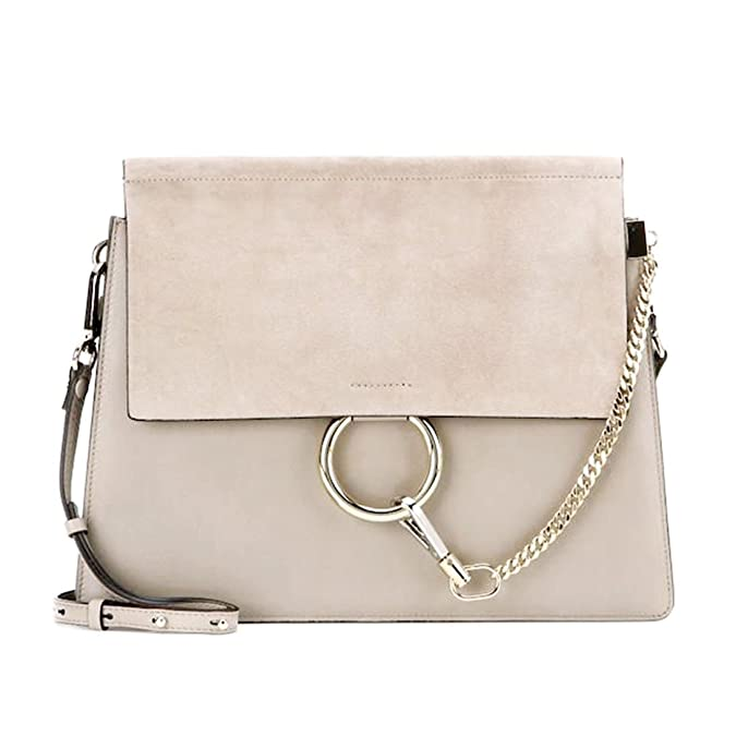 Actlure Women Genuine Leather Crossbody Shoulder Purse Chain Link Fy Bag by Actlure