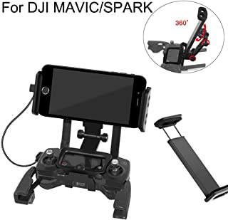 Gaddrt mobile iPad Tablet estensione del supporto staffa cordino RC per DJI Mavic Pro Spark drone (B)