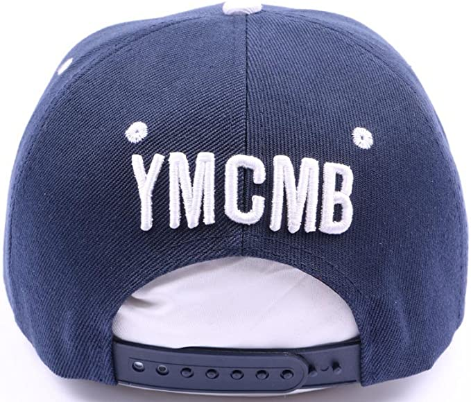 YMCMB – Gorra con visera plana YMCMB azul façon bandera US hombre ...