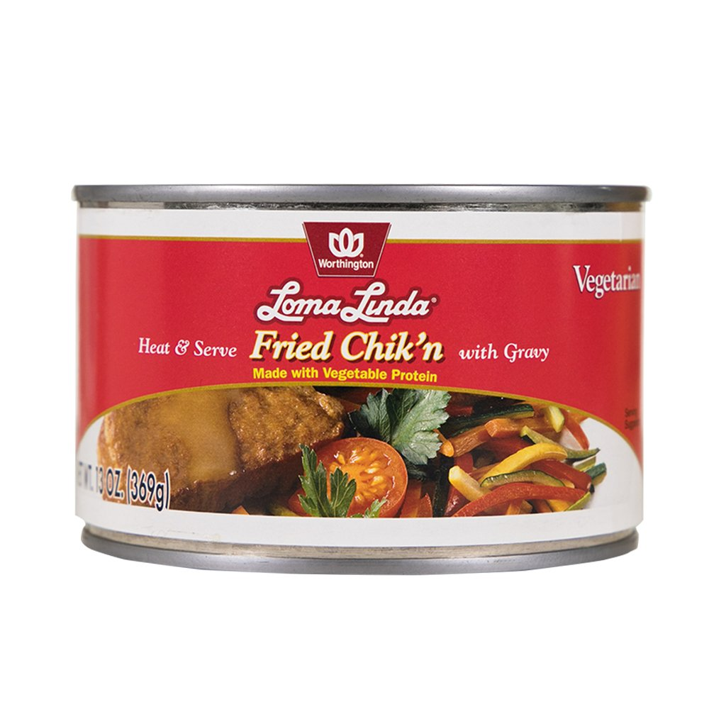 Loma Linda - Vegetarian - Fried Chik'n with Gravy (13 oz.) - Kosher