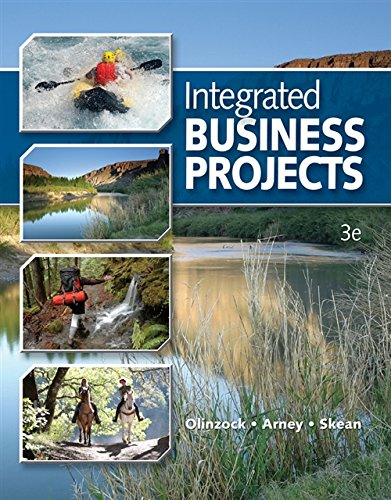Integrated Business Projects (Integrated Office Applications)