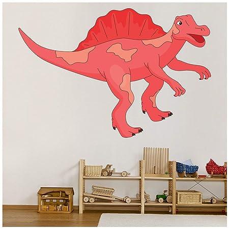 Azutura Spinosaurus Wandtattoo Rot Dinosaurier Wand Sticker Jungen