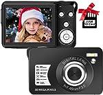 Digital Camera,30MP Compact Camera,2.7 inch Pocket Camera,Rechargeable Small Digital Camera for