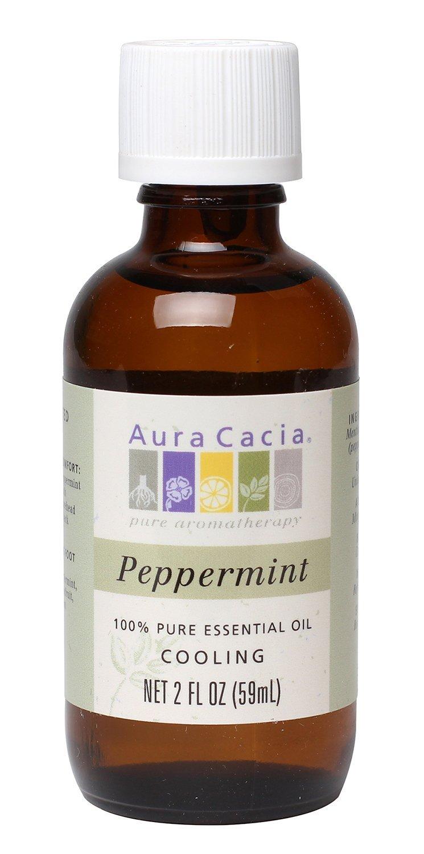 Aura Cacia Essential Oil, Cooling Peppermint, 2 fluid ounce by Aura Cacia