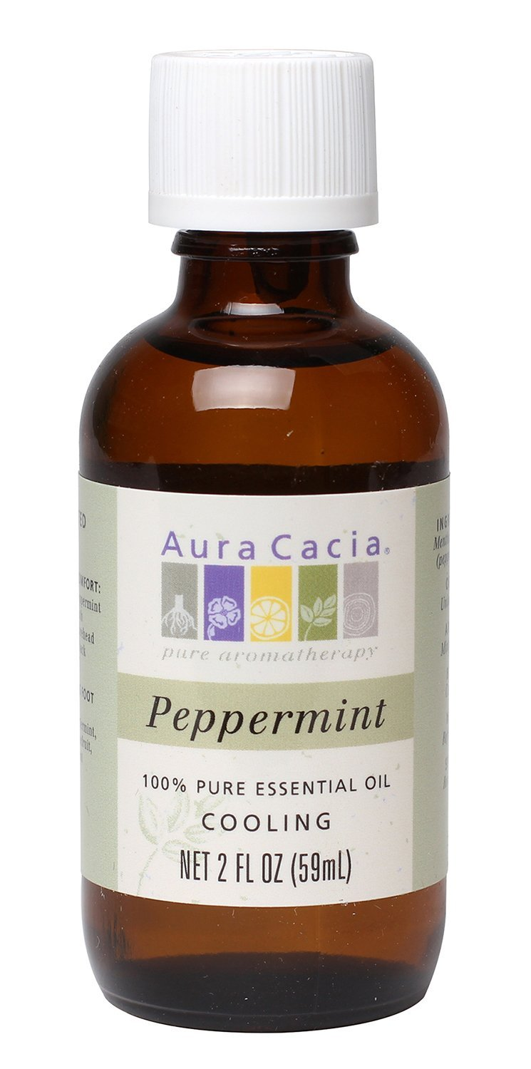Aura Cacia Essential Oil, Cooling Peppermint, 2 fluid ounce