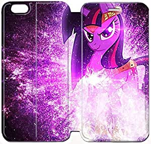 Flip Folio Leather Case for iPhone 6 plus 5.5 inch Cell Phone Case My Little Pony Twilight Sparkle HPM4628424