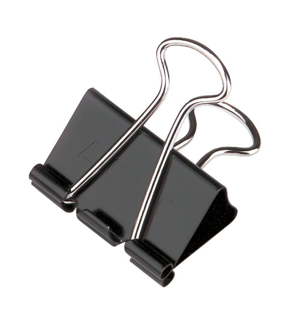 ACCO Binder Clips, Small, 1 Case, 144 Boxes/Case, 12/Box (A7072020CS)