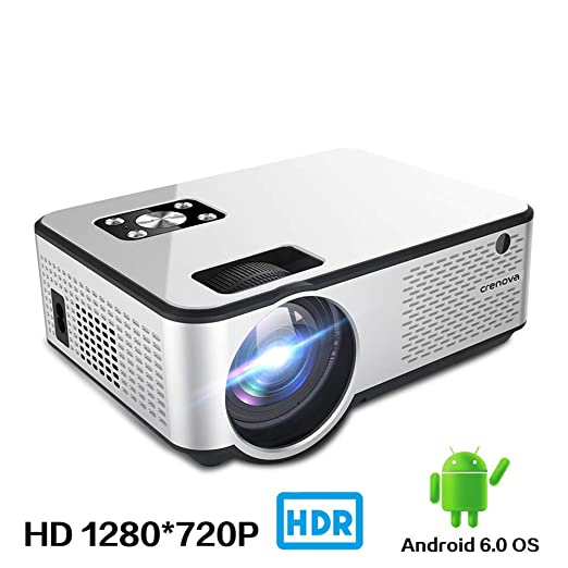 AINGOL Proyector de Video, 2800 Lux Home Movie Projector, HD LED ...