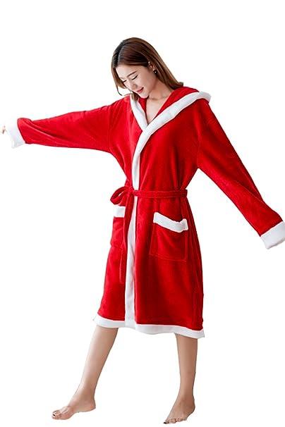 Amazon.com: lemongo Navidad Miss Santa Disfraces de navidad ...