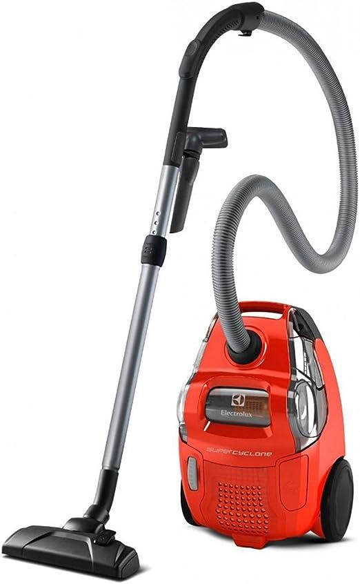 Electrolux ESC61LR - Aspiradora (750 W, A, 27,4 kWh, Aspiradora cilíndrica, Sin bolsa, Rojo): Amazon.es: Hogar