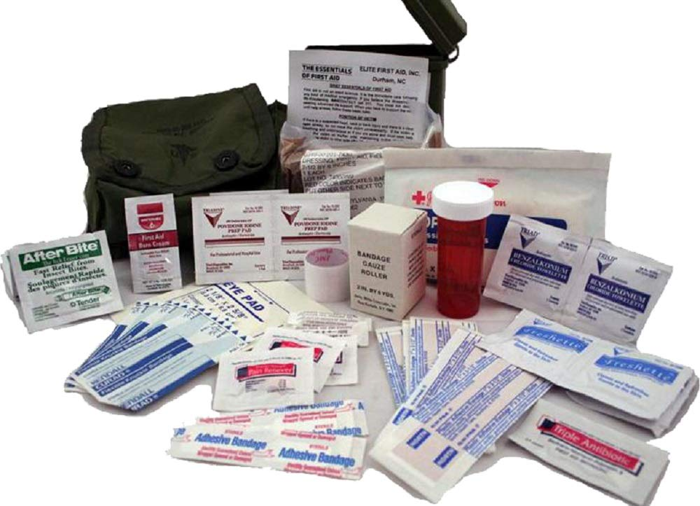 Elite First Aid FA102L Individual Military Issue Case Aid Kit