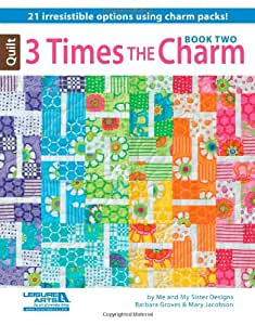 Leisure Arts Three Times the Charm Two Book