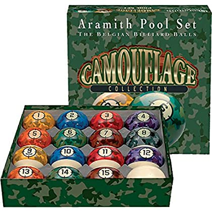 Image of Aramith Camouflage Collection Billiard Ball Set
