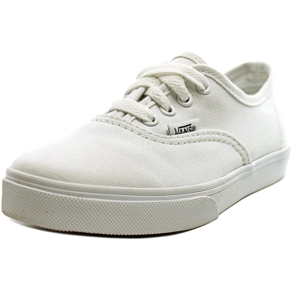 Vans Kids Authentic Lo Pro Skate Shoe True White- Little Kid - 11