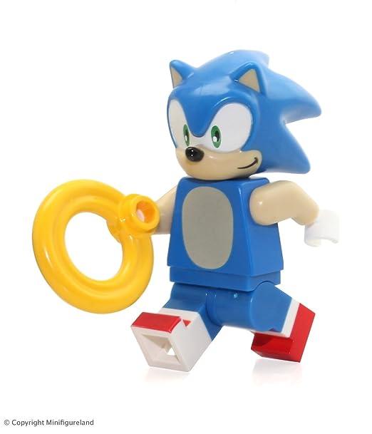 Amazon.com: LEGO Sega Dimensions Minifigure - Sonic the Hedgehog ...