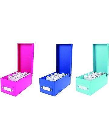 3x caja de aprendizaje DIN A8/fichero (/1200Tarjetas/