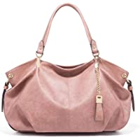 Large handbag tote casual work women design PU leather shoulder bag