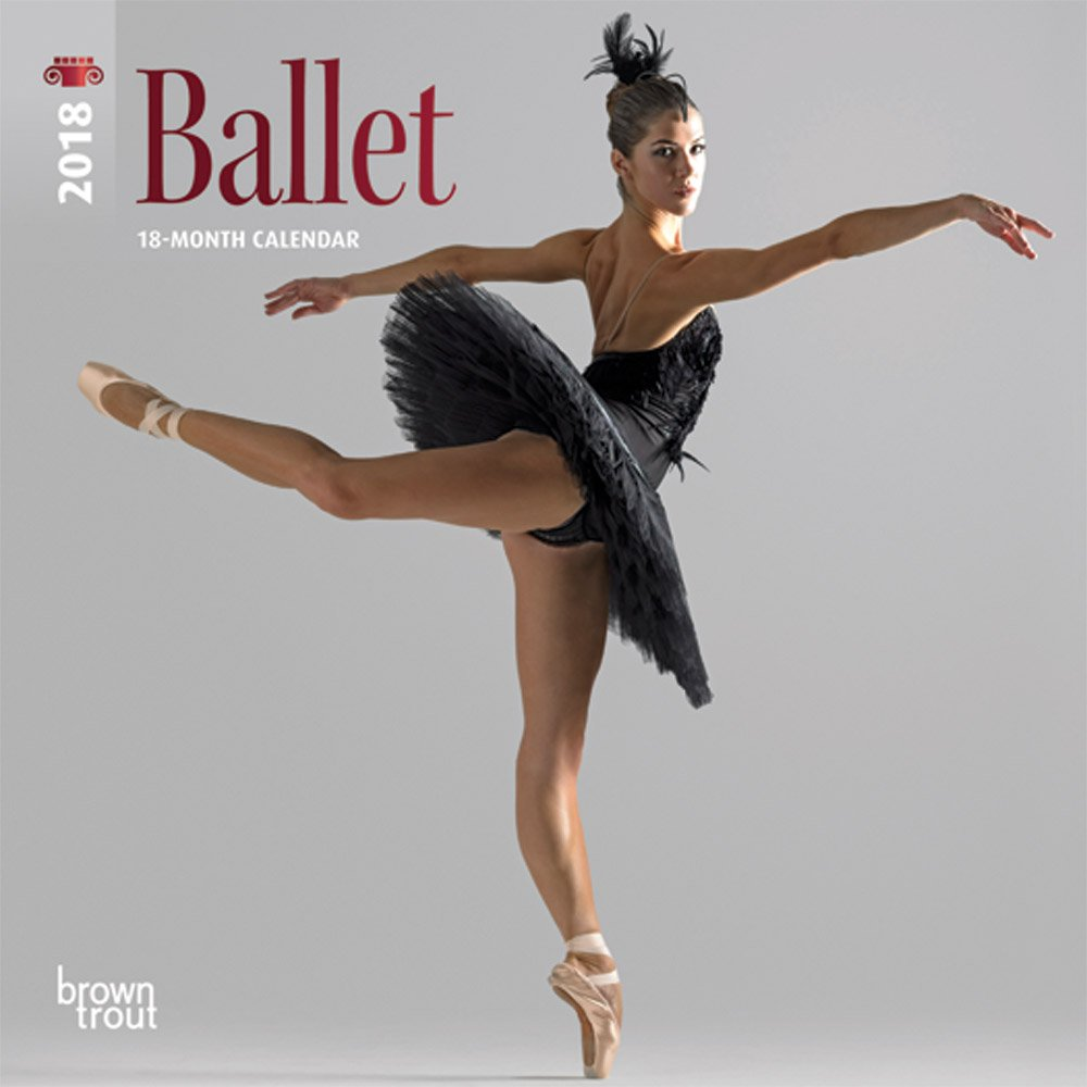 Ballet 2018 7 x 7 Inch Monthly Mini Wall Calendar with Foil Stamped Cover, Performance Dance (English, French and German Edition)