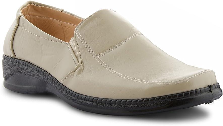 New Ladies Flat Comfy Smart Work Shoes