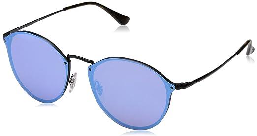 Óculos de Sol Ray Ban Blaze Round RB3574N 153 7V-59  Amazon.com.br ... 74af5f53e3