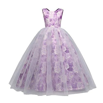 Vestido para niña, vestido con estampado floral para niñas ...