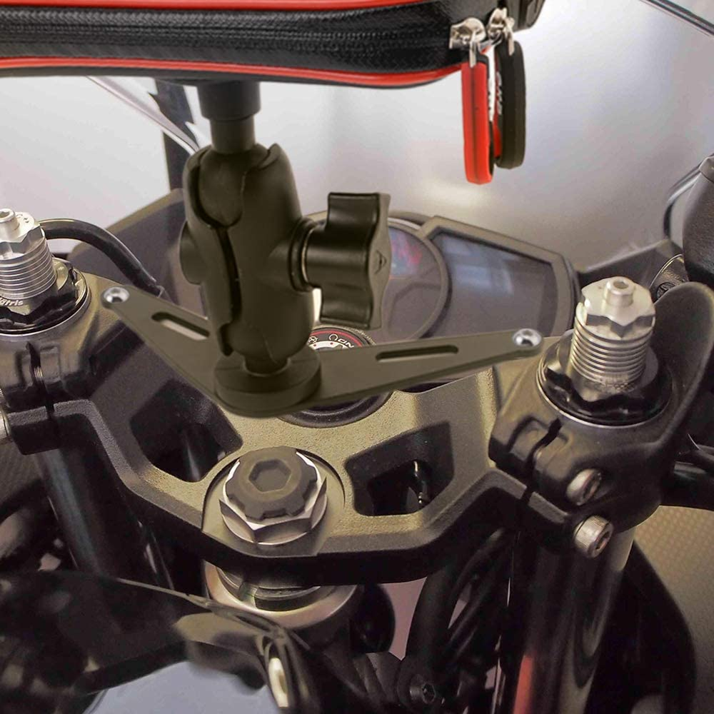 Large GUAIMI Motorcycle Phone Mount Holder Waterproof Cell Phone Bag Case with Card Slot for Kawasaki Ninja650 2017-2020 Ninja1000 2011-2020 GTR1400 2006-2020 Ninja H2SX 2018-2020 Z1000SX 2011-2020