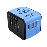 Deals on BESTEK Universal Travel Adapter with USB C Charger