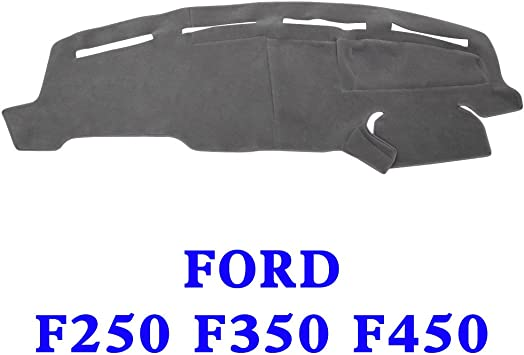 Ford Excursion 2000-2005 Velour Dash Board Cover Mat Grey