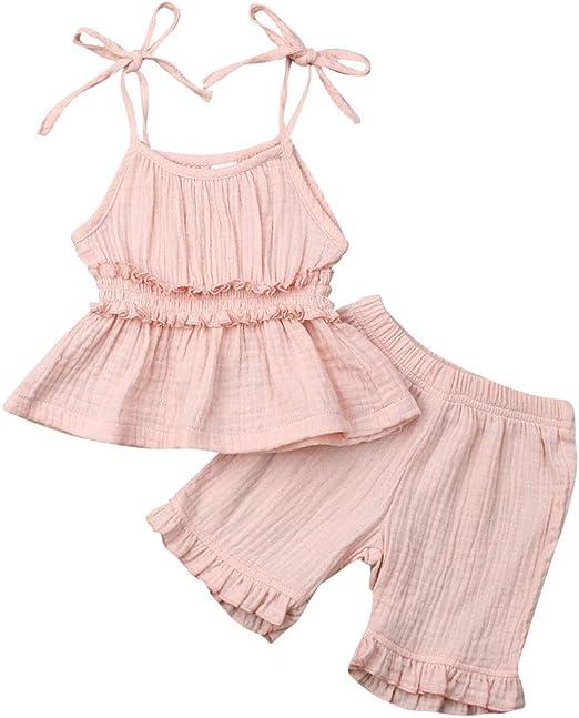 US Stock Toddler Kids Girls Flamingo Summer Casual Dress Sundress Clothes 1-6T