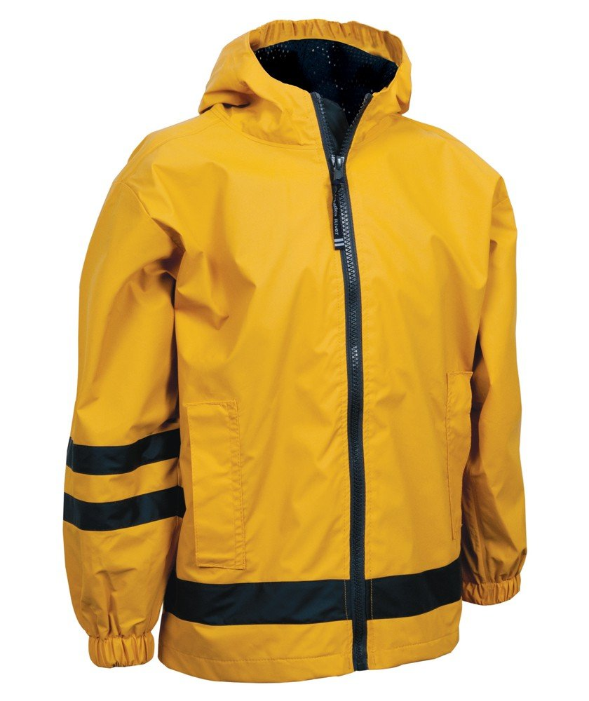 Children's New Englander Rain Jacket from Charles River Apparel 7099