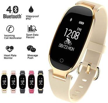 KDSFJIKUYB Fitness Tracker Soprt S3 Smart Watch Mujeres Pulsera ...