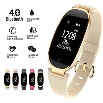 KDSFJIKUYB Fitness Tracker Soprt S3 Smart Watch Mujeres ...