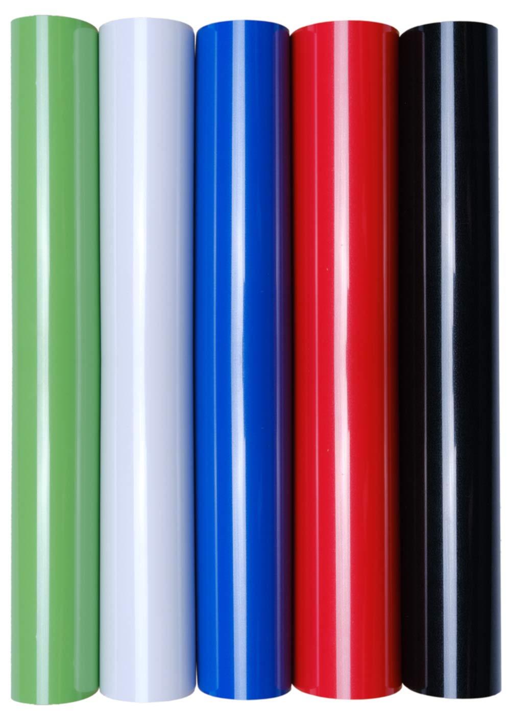 color 5er Set Earth perfectas para plotter 5 l/áminas de transferencia A4 para planchar sobre textiles
