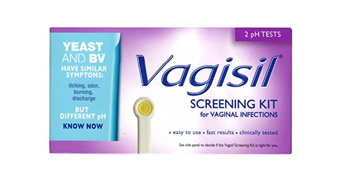 Amazon Vagisil Screening Kit For Vaginal Infections 2 Ph Tests