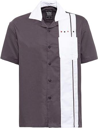 King Kerosin King Camisa de Bowling para Hombre: Amazon.es: Ropa y accesorios