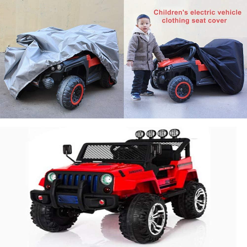 wasserfester Schutz universelle Passform LZDseller01 Kinderautoabdeckung Elektrofahrzeugabdeckung Spielzeugautoabdeckung f/ür Kinder Oxford Stoffschutz
