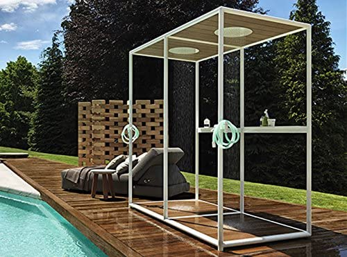 Zucchetti Kos shower enclosures Outdoor Wazebo outdoor shower ...