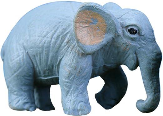 azul Vi.yo 5 adornos de resina de animales para decoraci/ón en miniatura de jard/ín