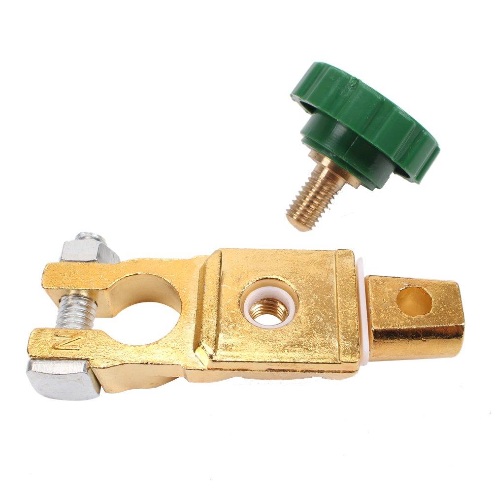 coupe circuit batterie Isolateur//Interrupteur de batterie Coupe Electrique 12 V, interrupteur de batterie coupe batterie voiture CCLIFE Coupe batterie