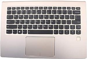 Laptop PalmRest&Keyboard for Lenovo Yoga 910-13IKB English US 5CB0M35007 Upper Case 80VF Gold 95% New