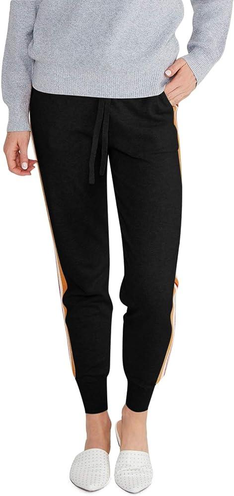 State Cashmere - Pantalones de chándal para Mujer (algodón ...