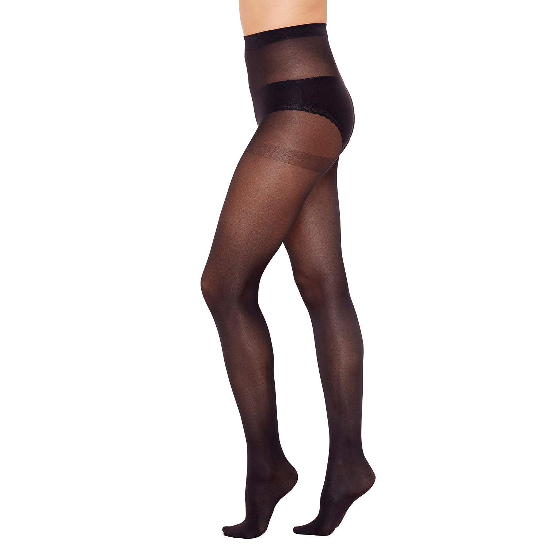 0de8412e34c Debenhams Womens Pack of 3 Black 40 Denier Opaque Microfibre Tights   Debenhams  Amazon.co.uk  Clothing
