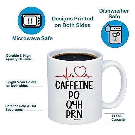 3116015745ed7 Amazon.com: Nurse Mug - Funny Nursing Student RN Coffee Mug - Great Humor  Nurse Practitioner Assistant 11oz Gift For Birthday, School Graduation,  Christmas, ...