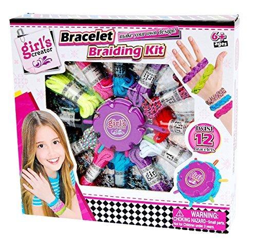 Girl's CREATOR Bracelet Braiding kit by MSDS