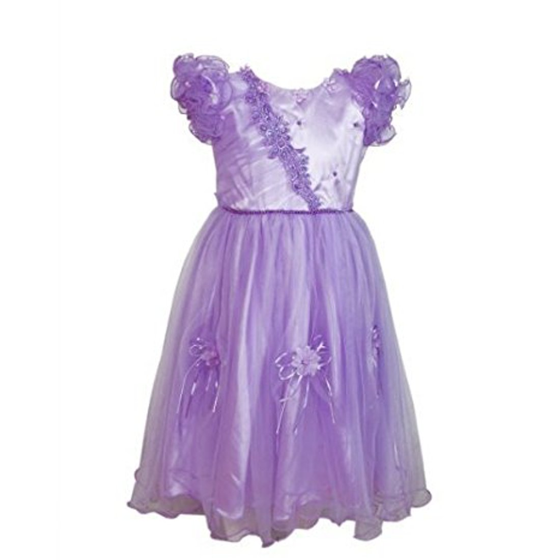 7ea81ca97de0 Girls Party Dress Flower Christening Communion Formal Party Wedding ...